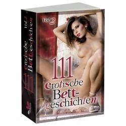 »111 erotische Bettgeschichten 2«, Paperback