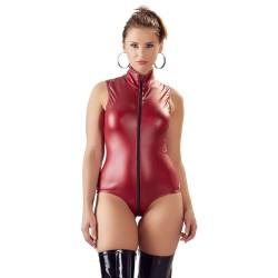 Body im Mattlook mit langem 2-Wege-Reißverschluss