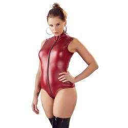 Minikleid »Wetlook«