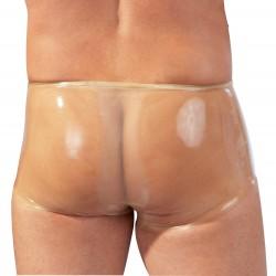 Pants aus Latex mit Penis-Hoden-Hülle