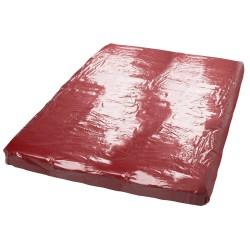 Straps-Strümpfe rot