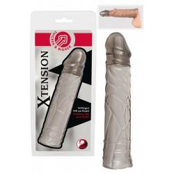 Penishülle »Xtension«, 16,5 cm, rauchfarben