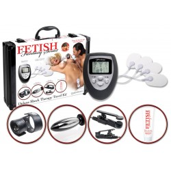 7-teilies Reizstrom-Set »Deluxe Shock Therapy Travel Kit«