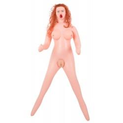 Liebespuppe »Sexy & Psycho« mit 3 Öffnungen, 3D-Gesicht und entnehmbarem Masturbator