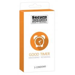 Kondome »Good Timer«, 3er