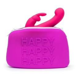 Toy-Tasche »Zip Bag«, hygienisch, 25 cm, lila