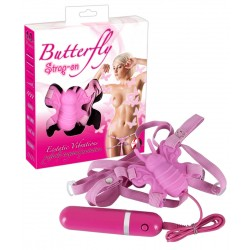Butterflyvibrator »Butterfly Strap On« zum Umschnallen, mit 10 Vibrationsstufen