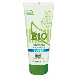 Gleitgel »HOT BIO waterbased super«, 100% biologisch, 100 ml
