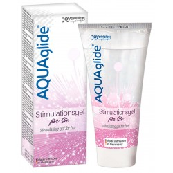 AQUAglide Stimulationsgel, lang anhaltend, 25 ml