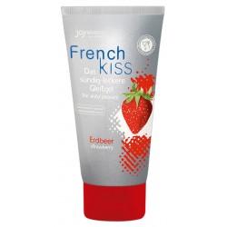 Gleitgel »Frenchkiss Erdbeer« mit Erdbeeraroma, 75 ml