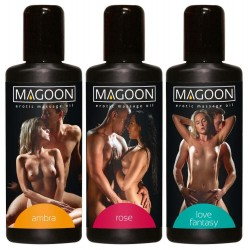 Massageöl »Magoon«, diverse Aromen, 300 ml