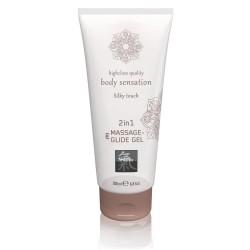 Massage- und Gleitgel »2in1 Silky Touch«, 200 ml