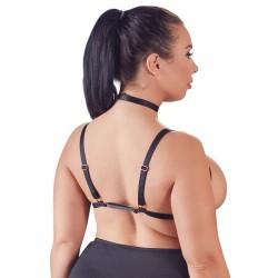 Brust-Harness aus Stretchriemen